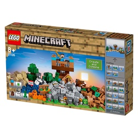 Konstruktorius LEGO Minecraft The Crafting Box 2.0 21135