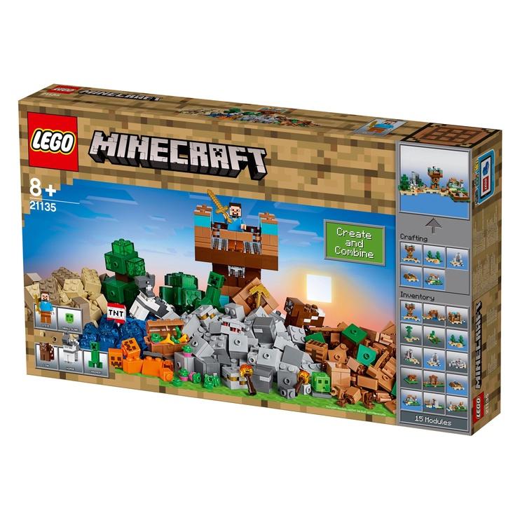 Konstruktors Lego Minecraft 21135