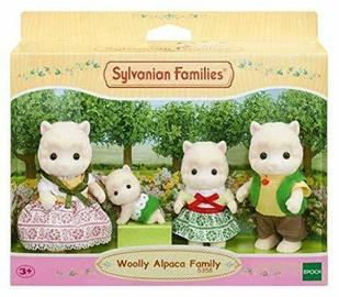 Žaislinė figūrėlė Epoch Sylvanian Families Woolly Alpaca Family