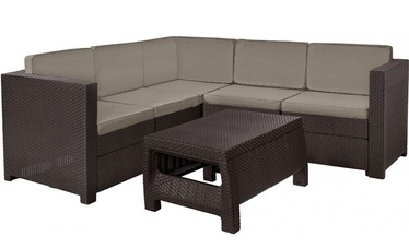 Keter Provence Garden Furniture Set Brown