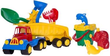 Smėlio žaislų rinkinys 4IQ Truck & Sand Castle
