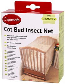Clippasafe Cot Bed Insect Net 4CB CL175