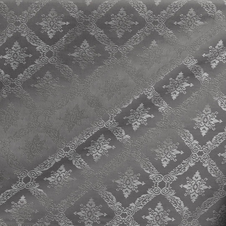 Скатерть DecoKing Maya, серый, 4000 мм x 1600 мм