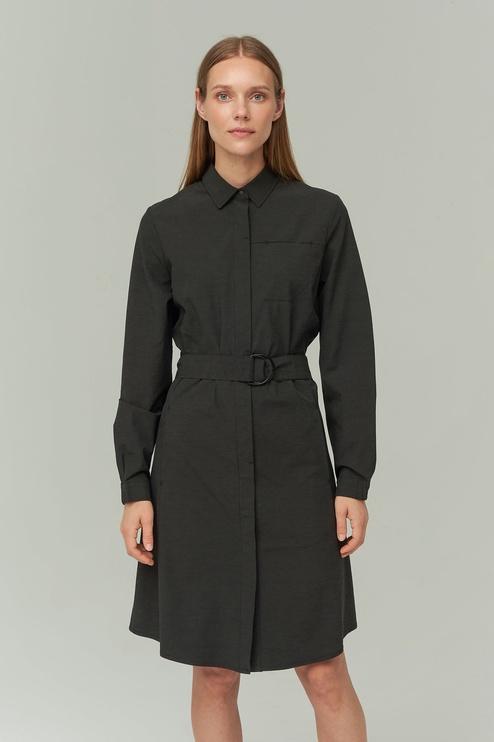 Audimas Lightweight Fabric Dress Black XS