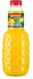 Sultys Granini, apelsinų su minkštimu 100%, 1 l
