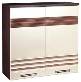 DaVita Rio 16.02.1 Kitchen Upper Cabinet Wenge Oak/Pearl