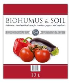 Komposts organiskais dārzeņiem Biohumus & Soil, 10L
