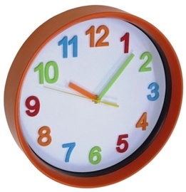 Asi Collection Wall Clock 28.5cm Orange