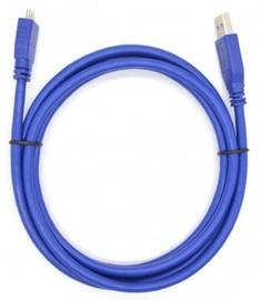 TB Cable Micro USB / USB Blue 0.5m
