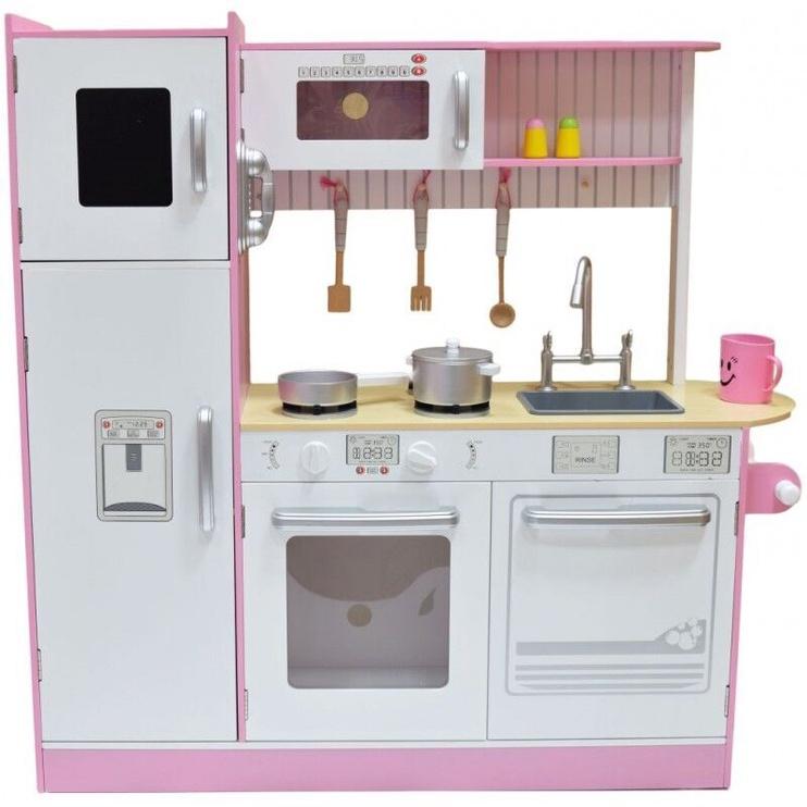 4IQ Mary Universal Wooden Kitchen Pink/White