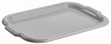 Galicja Plastic Tray Grey 40x28cm