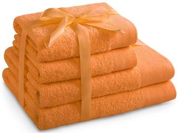 Dvielis AmeliaHome Amari 23870 Orange, 70x140 cm, 4 gab.