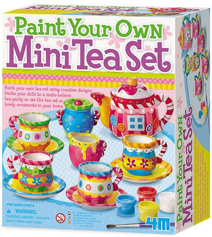 4M Paint Your Own Mini Tea Set 4541