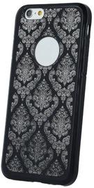 Mocco Ornament Back Case For Samsung Galaxy J3 J330 Black
