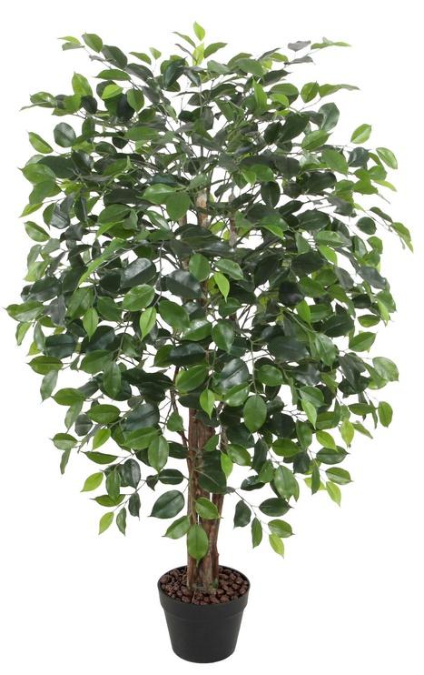 Искусственный цветок Home4you Ficus Artificial Plant In Pot H120cm Green
