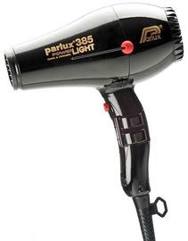 Parlux Hair Dryer 385 Power Light Black