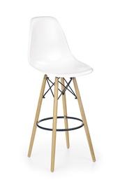 Baro kėdė H51, balta