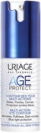 Paakių kremas Uriage Age Protect Multi Action Eye Contour, 15 ml