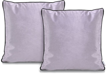 DecoKing Pillowcase Rima Velvet Lilac 45x45 2pcs