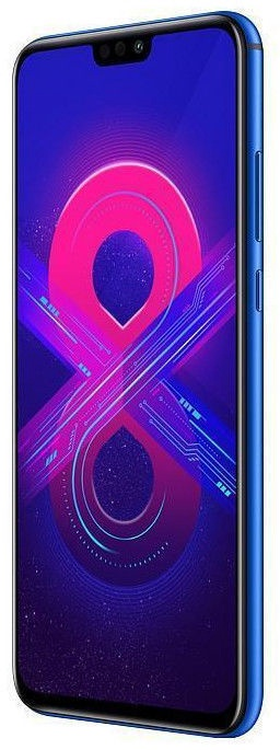 Huawei Honor 8X 4/128GB Dual Blue with SanDisk 64GB Ultra MicroSD Card
