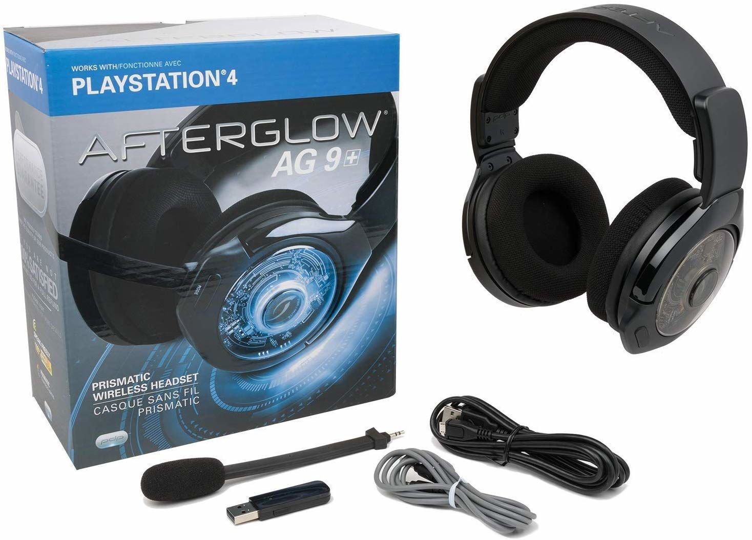 Mobili Per Tv E Stereo.Pdp Afterglow Ag 9 Stereo Wireless Gaming Headset Black