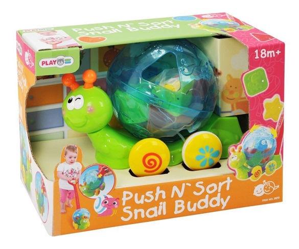 Playgo Push N Sort Snail Buddy 2870