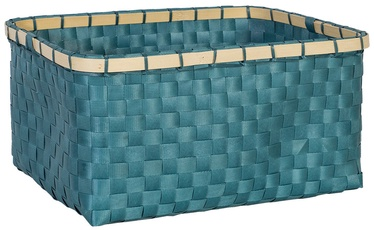 Home4you Basket Lido 3 28x19xH13cm Blue