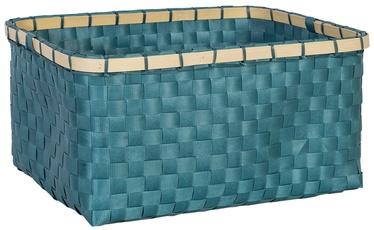 Home4you Basket Lido 3 28x19xH13cm Blue