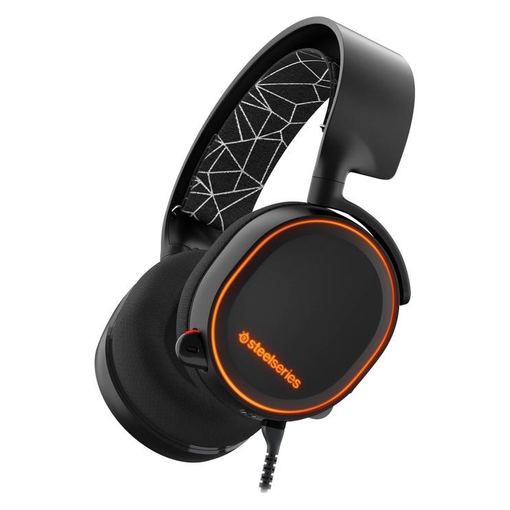 Žaidimų ausinės SteelSeries Arctis 5