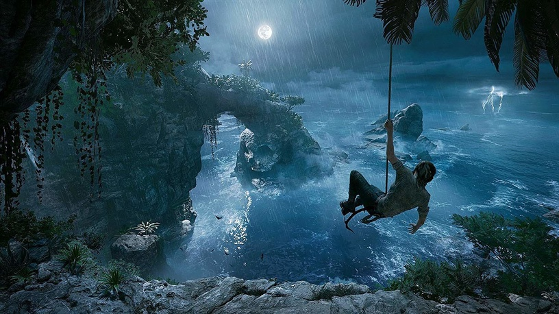 Shadow of the Tomb Raider incl. Survival Paracord and Iron Patch PS4