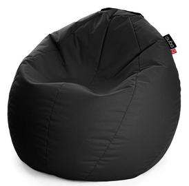 Кресло-мешок Qubo Comfort 80, черный, 150 л