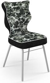 Детский стул Entelo Solo Size 5 ST33, черный/серый, 390 мм x 850 мм