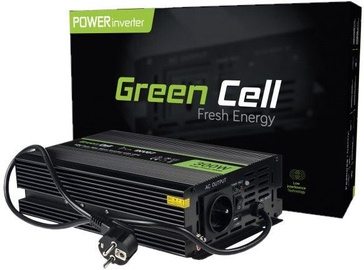 Green Cell Car Power Inverter Converter 12V to 230V 300W/600W