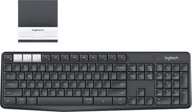 Logitech K375s Wireless Keyboard and Stand Combo US Black