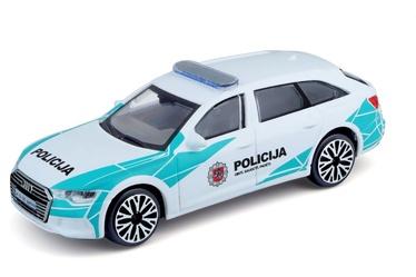 Lietuvos policijos automobilis Bburago 1/43 audi a6, 18-30415