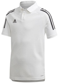 Adidas Mens Condivo 20 Polo Shirt EA2517 White L