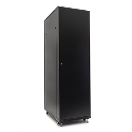 Netrack Economy Standing Server Cabinet 42U/600x1200mm Perforated Black