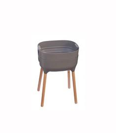 Puķu pods Urbalive 38x50.5x77cm pelēks (PLASTIA)
