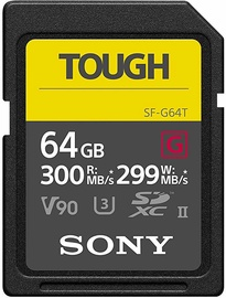 Sony SF-G TOUGH 64GB SDXC UHS-II Class 10