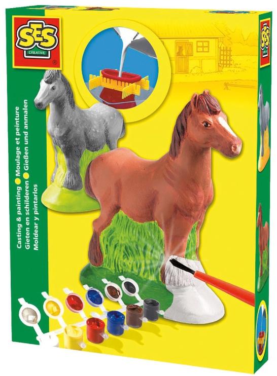 SES Creative Children's Horse Casting & Painting Set 01211