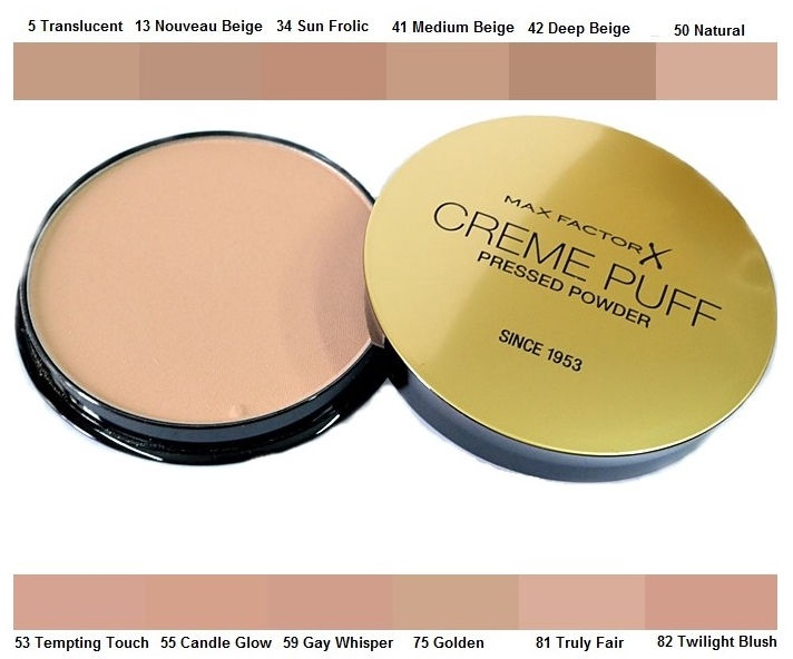 Max Factor Creme Puff Pressed Powder 21g 75