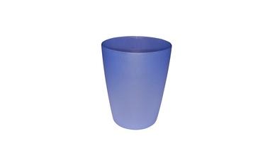 Plastikinė stiklinė, mėlyna, 0.3 l