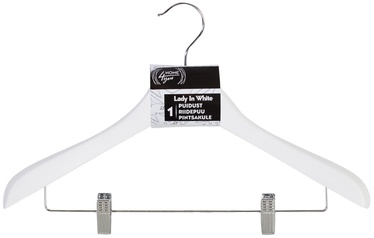 Home4you Lady In White Jacket Hangers White