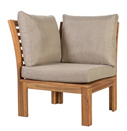 Home4you Alpinia Module Sofa Corner w/ Cushions Grey