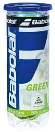 Tennisepall Babolat Green, kollane, 3 tk