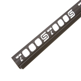 Apdailos juostelė, juoda, 250 x 0.7cm
