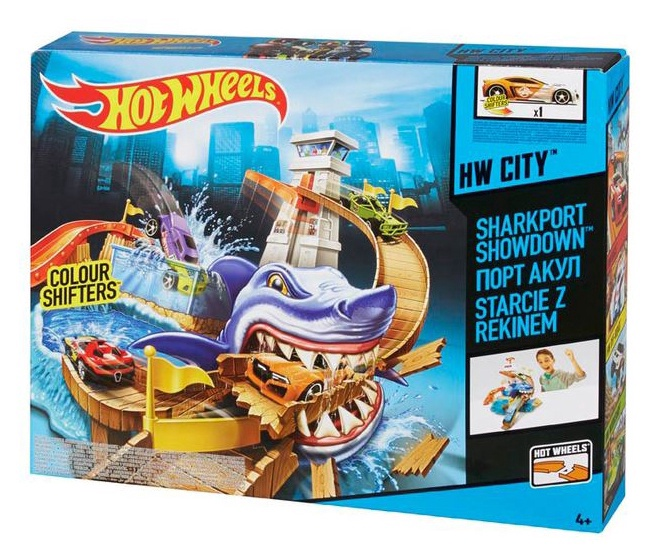 "Rotaļu komplekts Hot Wheels ""Sharkport Showdown"""