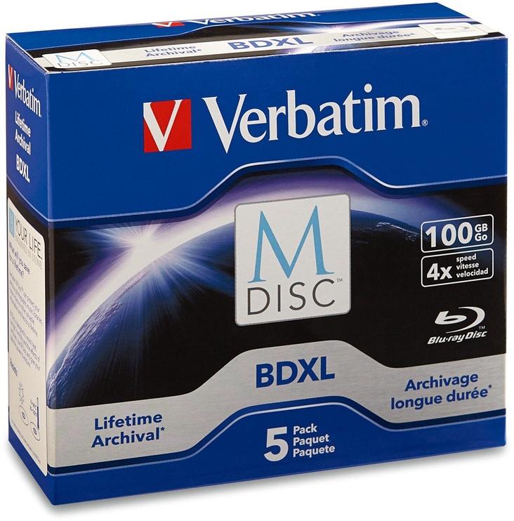 Verbatim BD-R XL M-Disc 100GB 4x 5pcs