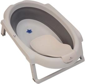 Детская ванночка BabyDan Folding Bath, кремовый
