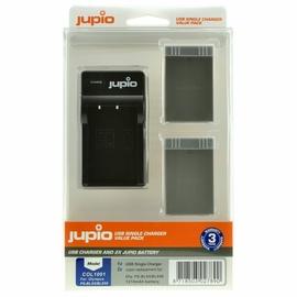 Jupio Kit 2x PS-BLS5/PS-BLS50 1210mAh + USB Dual Charger